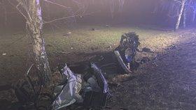 Dva řidiči už Vánoce nezažijí: Jeden (†35) zemřel po nárazu do stromu, druhý (†38) po střetu s náklaďákem