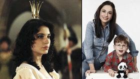 Pohádková hvězda Míša Kuklová: Syn netušil, že jsem princezna!