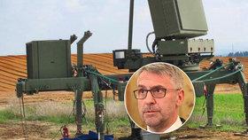 Metnar zrušil tendr na radary a chce je od Izraelců. Stropnický to schytal