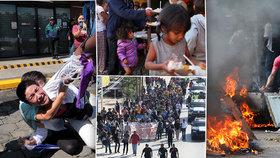 Český expert o tíživé situaci v Latinské Americe: Nemyslím si, že se něco změní