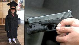 Rodiče šli na vánoční párty a děti nechali doma: Chlapec (12) zastřelil sestřičku (†6)!