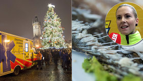 Vánoce a Silvestr pražské záchranky: Kosti v krku jsou spíš mýtus, petardy hrozba