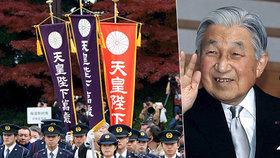 Císaři k narozeninám popřály desítky tisíc lidí. Japonský vladař brzy odstoupí