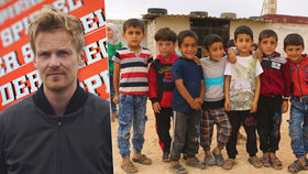 Novinář s vylhanými články tahal z lidí peníze na syrské sirotky. Do své kapsy?