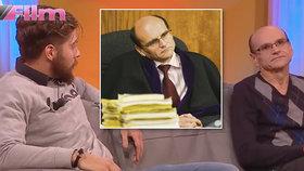 """Obviněný soudce Elischer: Nemůže soudit, tak hraje v reality show. """"Jsem nakažený HIV,"""" říká fiktivnímu synovi"""