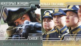 """""""Některé ženy vás odpálí."""" Putinova armáda vytáhla v kalendáři """"tajné zbraně Kremlu"""""""