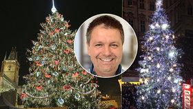Jakub (46) se už 13 let stará o výzdobu vánočních trhů v Praze. Zažil opilé lezce na stromě i nocležníky pod ním