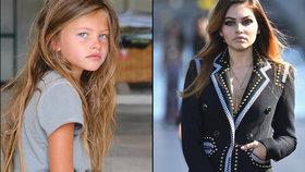 Z nejkrásnější holčičky světa je po letech nejhezčí tvář světa! Foto uvnitř