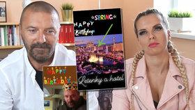 Řepka slavil narozeniny: Kristelová dala bývalému gamblerovi výlet do Vegas
