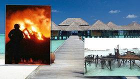 Peklo v dovolenkovém ráji: Turisté ve slavném letovisku bojovali o život! 5. NEJ hotel světa lehl popelem