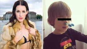 Potupa pro Lucii Křížkovou: Syn přišel k obědu s kolíčkem na nose!