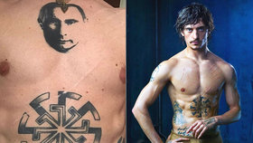 Kontroverzní baleťák Polunin míří do Prahy: S tetováním Putina na prsou!