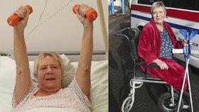 Nesnesitelné bolesti a strach: Herečka Obermaierová se ztrácí před očima