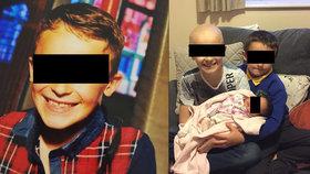 Chlapeček (†9) se smrtící rakovinou čekal na narození sestřičky: Zemřel na Štědrý den
