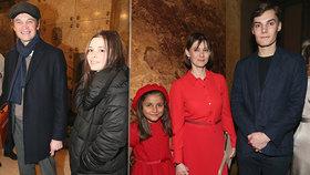 Klan Trojanů ovládl film: Hned čtyři z rodiny se sešli na place!