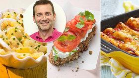Snídaně, oběd a večeře podle Petra Havlíčka! Vzorový jídelníček na jeden den