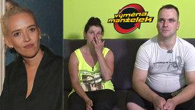 Klusovu manželku Tamaru doběla vytočila Výměna manželek! Rozhořel se spor o vařečku