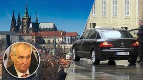 Nové limuzíny na Hradě mají, i tak nakupují. Auta pro úředníky: Pět vozů za 4 miliony