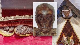 Záhadná mumie jeptišky na Hradčanech: Hrob Marie Elekty (†58) otevřely sestry před 353 lety