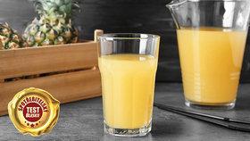 Test ananasových džusů a nektarů: Který výrobce šidí spotřebitele?