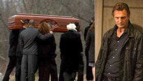 Těžce zkoušený Liam Neeson: Po smrti manželky (†45) oplakává synovce (†35)