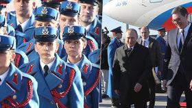 V Srbsku bude Putina chránit 7 tisíc policistů. Plánoval se tu na něj atentát