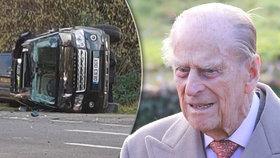 Krvavá bouračka prince Philipa (97): Zachránce zaskočil první otázkou!