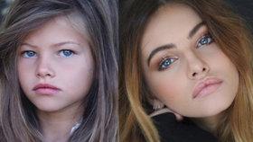 Nejkrásnější holčička ukázala 10 let starou fotku: Co se stalo s tvářičkou, která ohromila svět