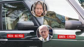 Princ Philip po nehodě opět za volantem: Bez pásu! I královna! Neomluvili se, naříká matka dvou dětí, do které naboural