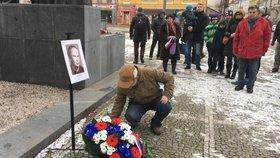 V Plzni vzpomínali na Josefa Hlavatého (†25): Vzplál před půl stoletím jako pochodeň bez čísla