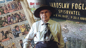 Před 20 lety zemřel Jaroslav Foglar: Prahu přetvořil v dějiště svých dobrodružných příběhů