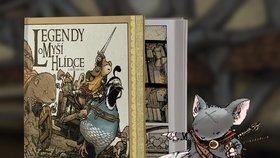 Recenze: Nejlepší komiksoví vypravěči už podruhé vyprávějí Legendy o Myší hlídce