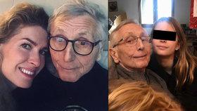 To nikdo nečekal! Jiří Menzel (80) po nemoci opět plný sil! Takhle řádí s dcerami