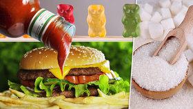 Pár gumových medvídků? Troška kečupu? Velké srovnání obsahu cukru vás překvapí!