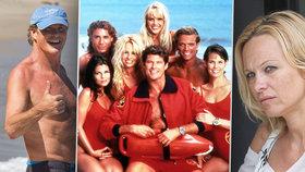 30 let od natáčení Pobřežní hlídky: Jak dnes vypadá legendární Mitch Buchannon a prsatá CJ Parker?