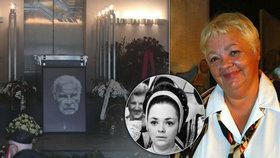 Sestra Hlaváčové chyběla na pohřbu Munzara! Nepřišla kvůli zlobě?