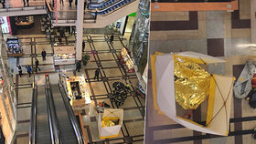 Smrt v Palladiu: Mladík si vzal život mezi nakupujícími