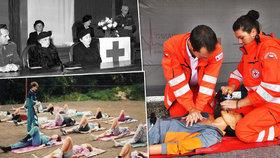 Hledání nezvěstných i tyfus: Červený kříž u nás slaví 100 let, u kolébky stála Masaryková
