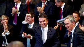 Makedonie je blízko vstupu do NATO. Přistoupení musí schválit ale i Češi