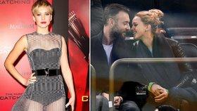 Kráska z Hunger Games Jennifer Lawrenceová se zasnoubila! Kdo jí navlékl obří prsten?