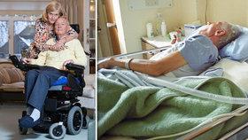 Kvůli Grossově nemoci se rozhodl pro eutanazii: Manželce hrozili kriminálem!