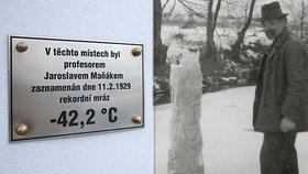 V Litvínovicích bylo -42,2 °C. Tzv. sibiřské mrazy udeřily přesně před 90 lety