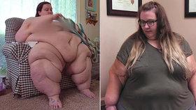 Morbidně obézní žena za rok zhubla 116 kg! Jídlo bylo priorita. Teď je z ní veganka