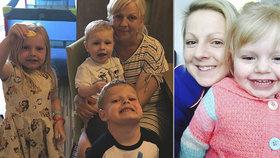 Máma trpící rakovinu nahrává pohádky před spaním pro své děti, kdyby zemřela