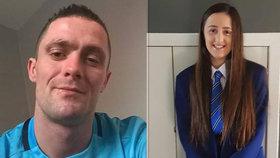 Školačku (†12) srazilo auto, ve kterém seděl její otec. Zemřela mu před očima
