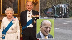 Princ Philip unikne trestu za nehodu! Nepomohla mu manželka královna Alžběta II., ale…