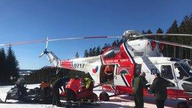 Neštěstí ve francouzských Alpách: Po kolizi s českým lyžařem zde zemřel Švéd