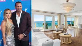 Jennifer Lopezová a Alex Rodriguez se rozmazlují: Pelíšek za 150 milionů!