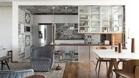 Úchvatný byt s kuchyní pokrytou italskými dlaždicemi a velkorysým balkonem