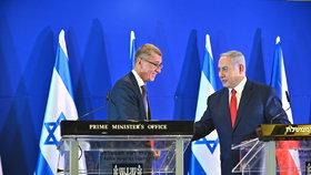 Spadla klec, premiéra obvinili z korupce. Babišův přítel Netanjahu vinu odmítá